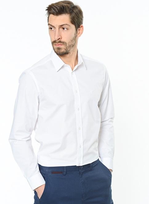 Karaca Klasik Gömlek Beyaz